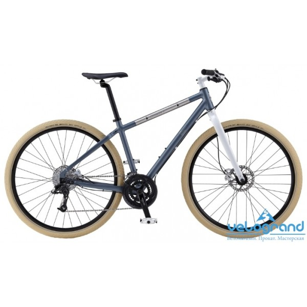 Городской велосипед Giant Seek 2 Disc (2014), Цвет Серебристый, Размер 20