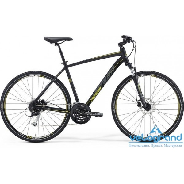 Городской велосипед Merida CROSSWAY 100 (2016), Цвет Красный, Размер 21,5