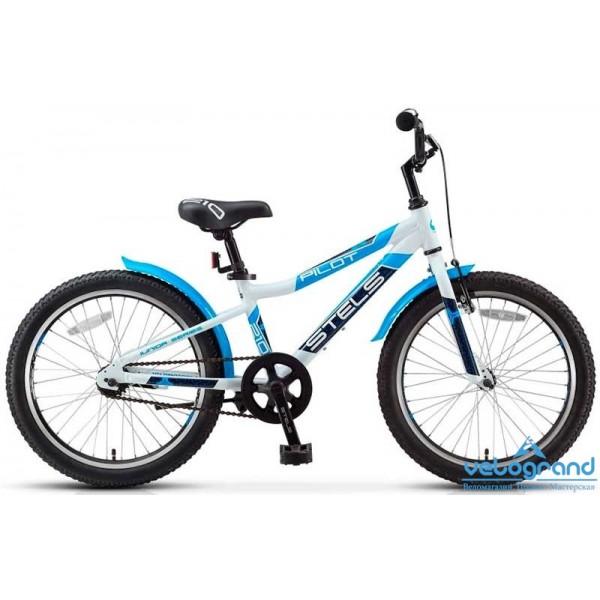 Детский велосипед Stels Pilot 210 Boy (2016), Цвет Бело-Синий