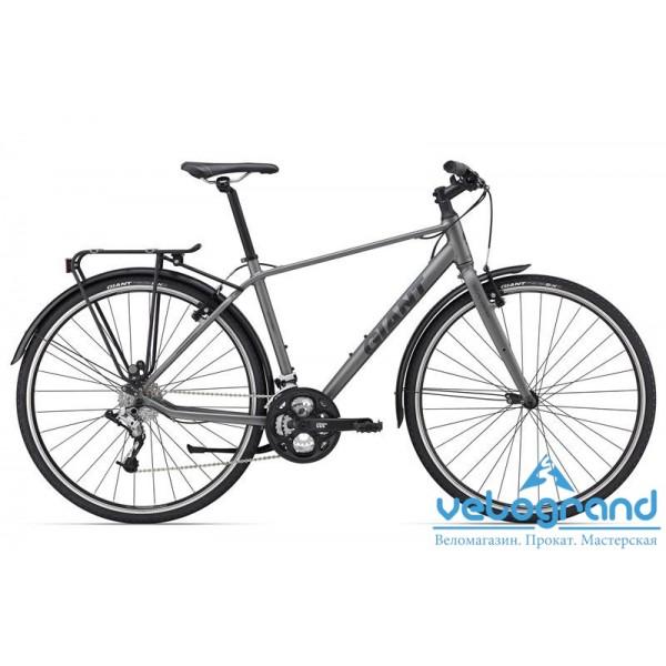 Комфортный велосипед Giant Escape 2 city (2015), Цвет Серый, Размер 16