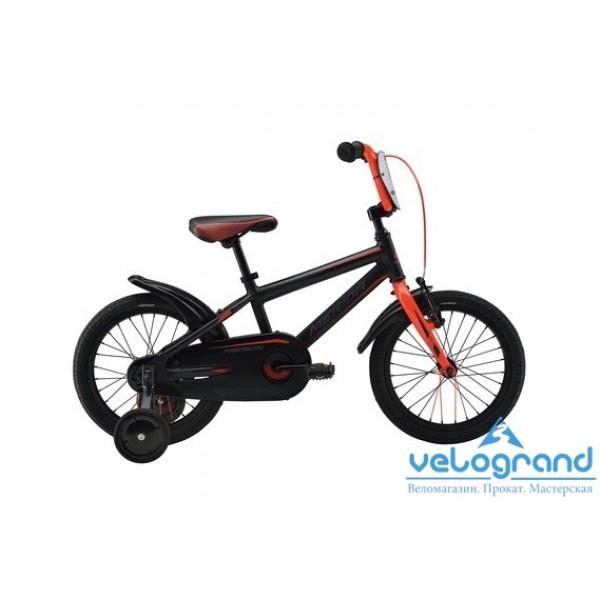 Детский велосипед Merida DINO J16 (2016), Цвет Черно-красный
