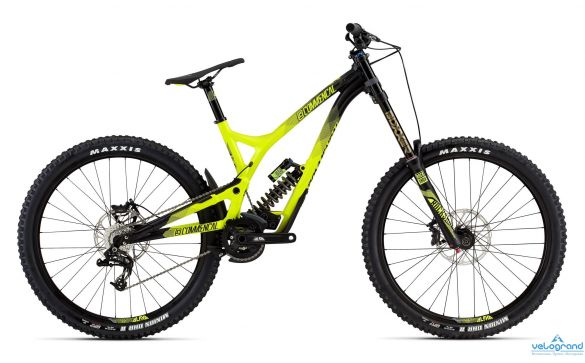 Велосипед двухподвес Commencal SUPREME DH V4 ORIGIN ROCKSHOX 650B (2016)