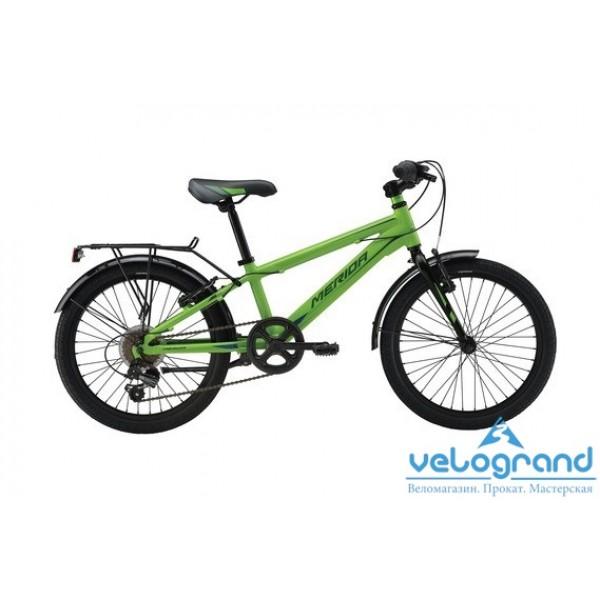 Детский велосипед Merida SPIDER J20 6SPD (2016), Цвет Зеленый