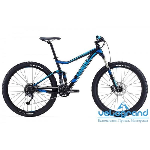 Велосипед двухподвес Giant Stance 27.5 2 (2015), Цвет Черный, Размер 22