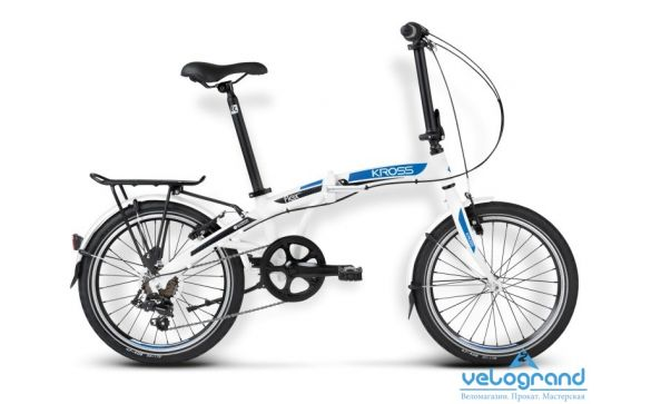 Складной велосипед Kross FLEX 2.0 (2016)