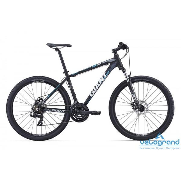 Горный велосипед Giant ATX 27.5 2 (2016), Цвет Черно-Синий, Размер 20