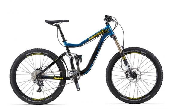 Велосипед двухподвес Giant Reign X0 (2014)