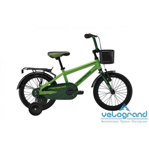 Детский велосипед Merida SPIDER J16 (2016), Цвет Зеленый