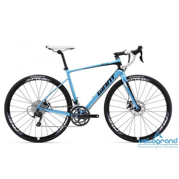 Шоссейный велосипед Giant Defy 1 Disc (2016) от Velogrand
