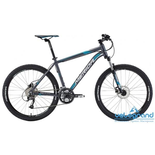 Горный велосипед Merida MATTS 6. 40-D (2015), Цвет Красно-Черный, Размер 20