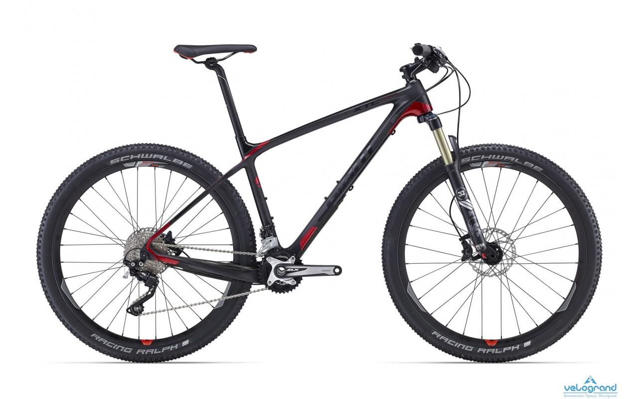 Горный велосипед Giant XtC Advanced 27.5 2 (2016)