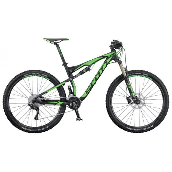 Scott Spark 950 (2016), Цвет Черно-Зеленый, Размер 18