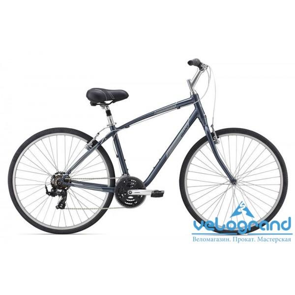 Комфортный велосипед Giant Cypress (2015), Цвет Темно-Синий, Размер 20