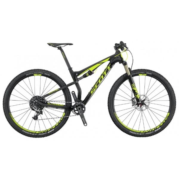 Scott Spark 900 RC (2016), Цвет Черно-Желтый, Размер 18