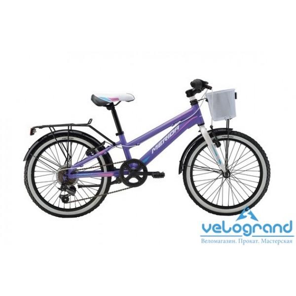 Детский велосипед Merida CHICA J20 6SPD (2016), Цвет Фиолетовый
