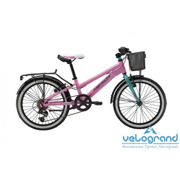 Детский велосипед Merida PRINCESS J20 6SPD (2016), Цвет Розовый