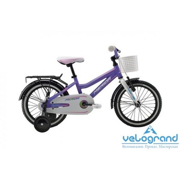 Детский велосипед Merida CHICA J16 (2016), Цвет Фиолетовый