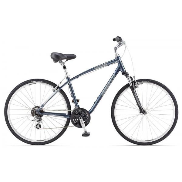 Комфортный велосипед Giant Cypress DX (2014), Цвет Серебряно-Белый, Размер 16