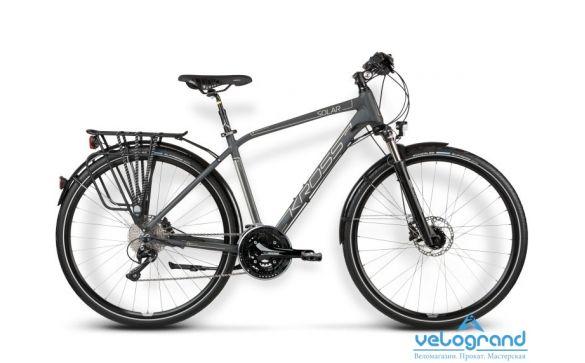 Комфортный велосипед Kross TRANS SOLAR (2016)