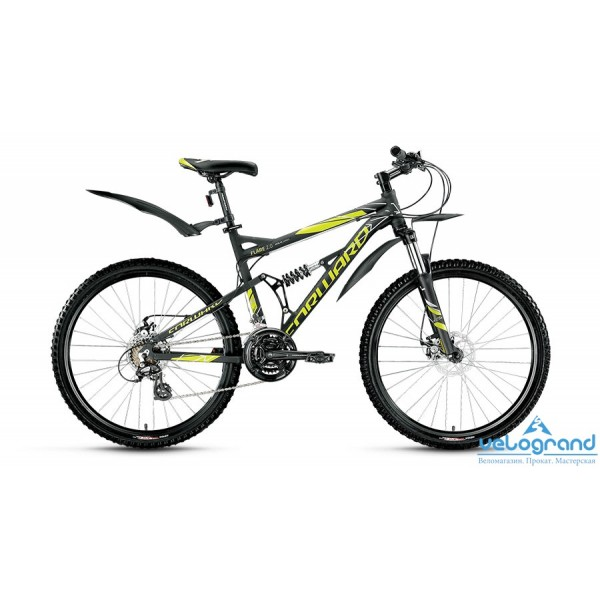 Велосипед двухподвес Forward Flare 2.0 disc (2016), Цвет Серый, Размер 16