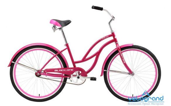 Велосипед круизер Black One Flora (2016)