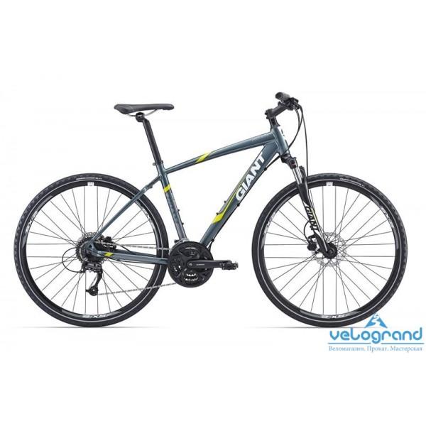 Городской велосипед Giant Roam 2 Disc (2016), Цвет Голубой, Размер 20