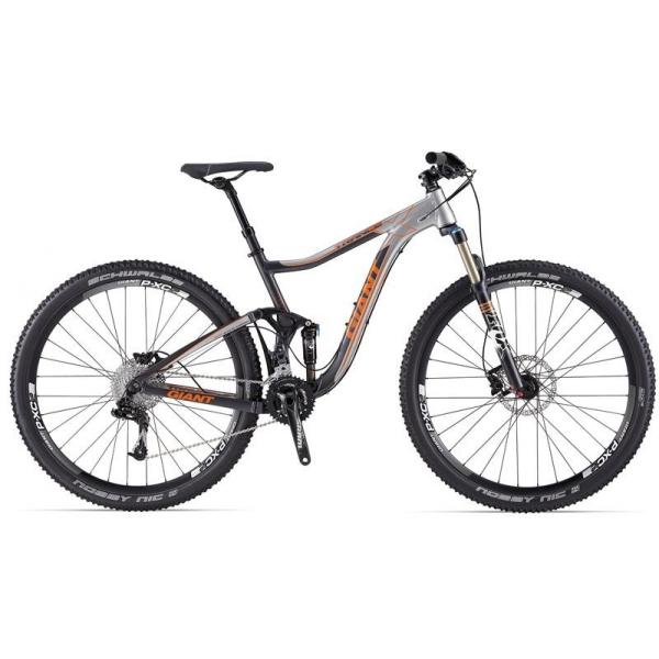 Велосипед двухподвес Giant Trance X 29er 1 (2014), Цвет Серебристый, Размер 20