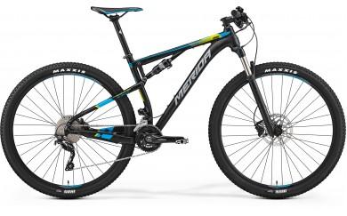 Велосипед двухподвес Merida Ninety-Six 9. 600 (2017)
