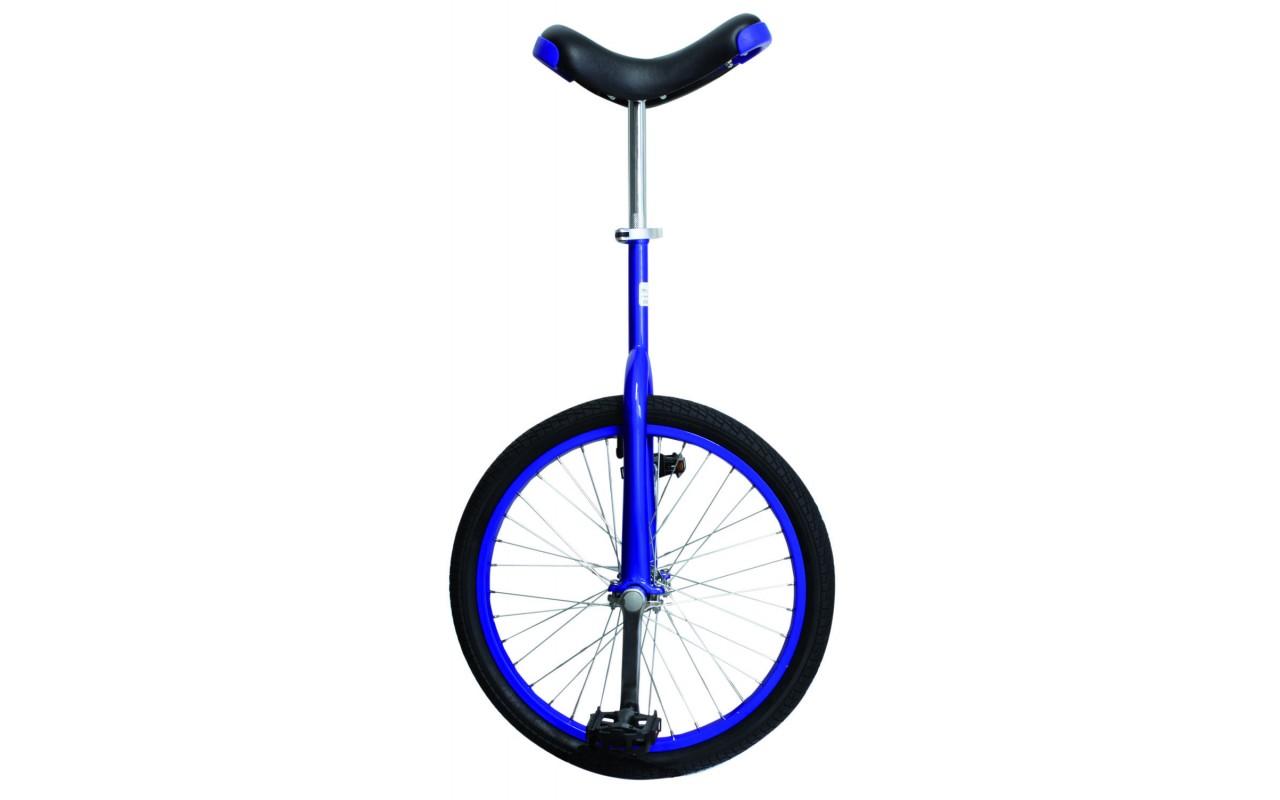 Уницикл 20 одноколесный велосипед синий FUN