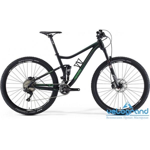Велосипед двухподвес Merida ONE-TWENTY 900 (2016), Цвет Черный, Размер 20