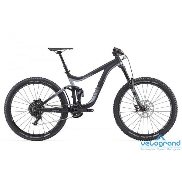 Велосипед двухподвес Giant Reign 27.5 1 (2016), Цвет Черный, Размер 18