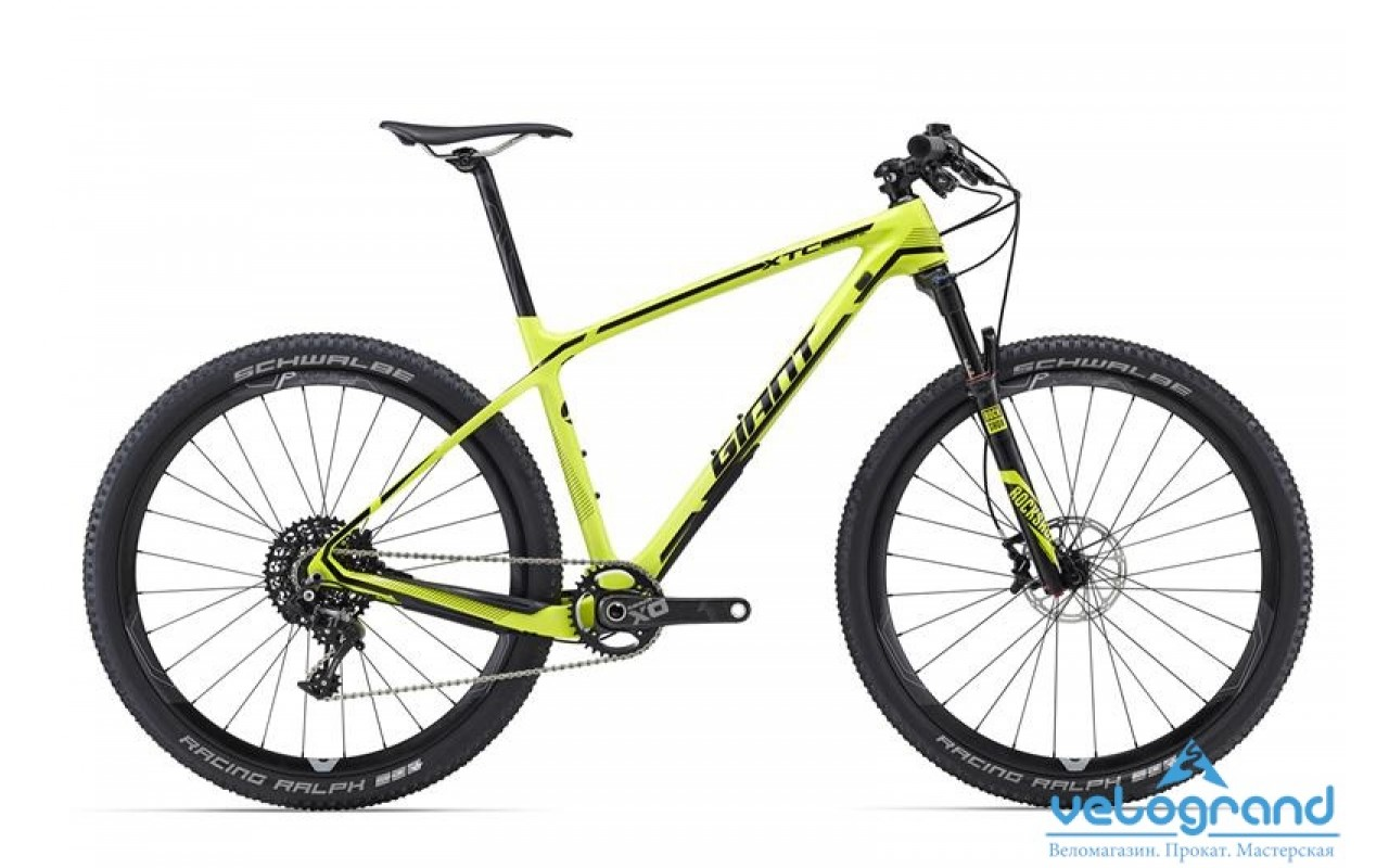 Горный велосипед Giant XtC Advanced SL 27.5 1 (2016)