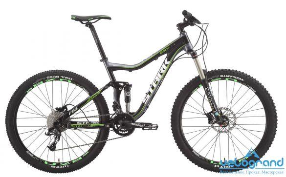 Велосипед двухподвес Stark Teaser Trail 650B (2015)