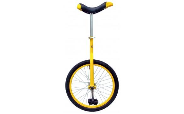 Уницикл 20 одноколесный велосипед желтый FUN