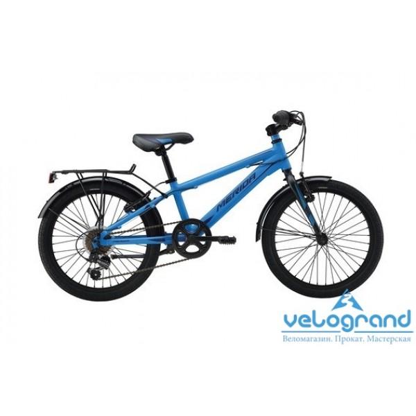 Детский велосипед Merida FOX J20 6SPD (2016), Цвет Синий