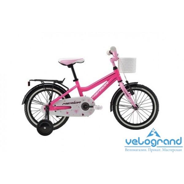 Детский велосипед Merida Bella J16 (2016), Цвет Розовый
