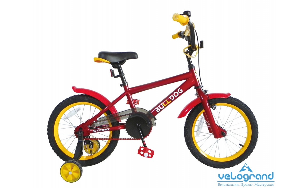 Детский велосипед Stark Bulldog boys 16 (2015)