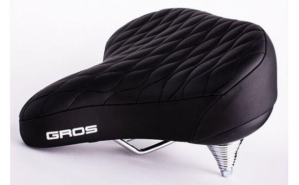 Велосипедное седло gros, модель vl-8080v
