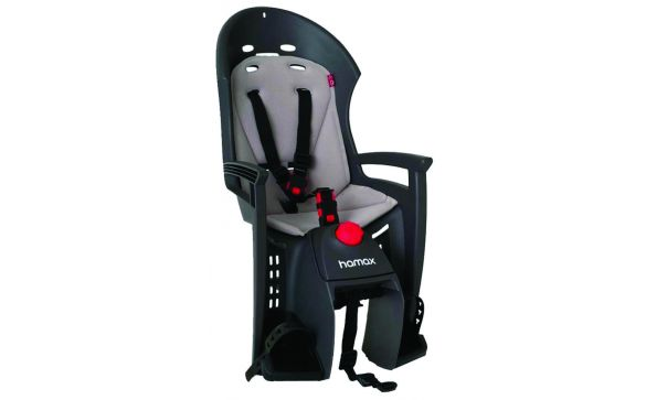 детское кресло на багажник велосипеда Hamax Siesta Plus incl.lightweight carrier 552531 (2017)
