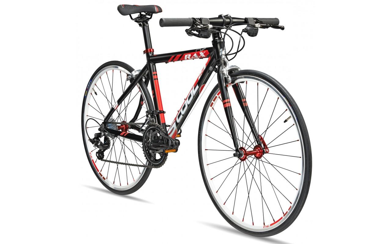 Подростковый велосипед Scool raX flat 24 (2017)