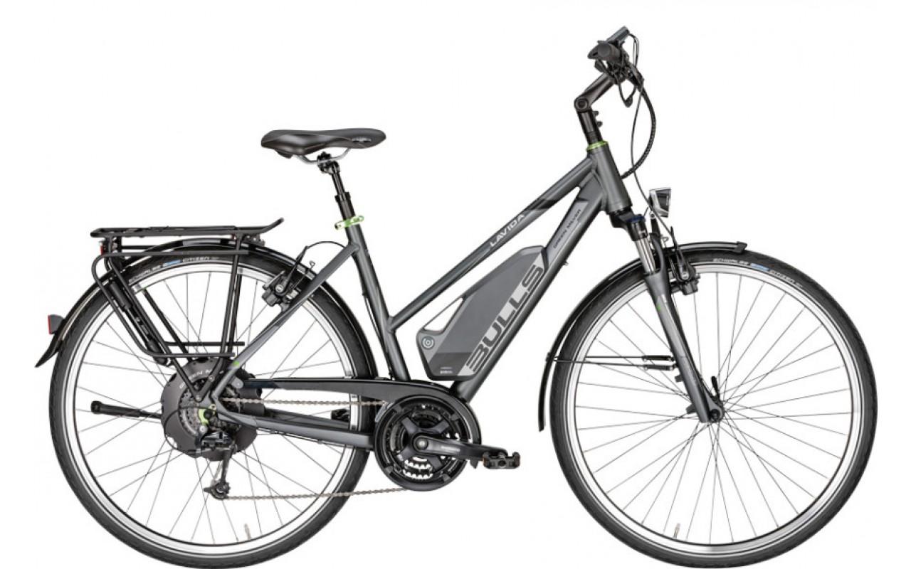 Электровелосипед Bulls Green Mover Lavida Trapez24 17Ah (2017)