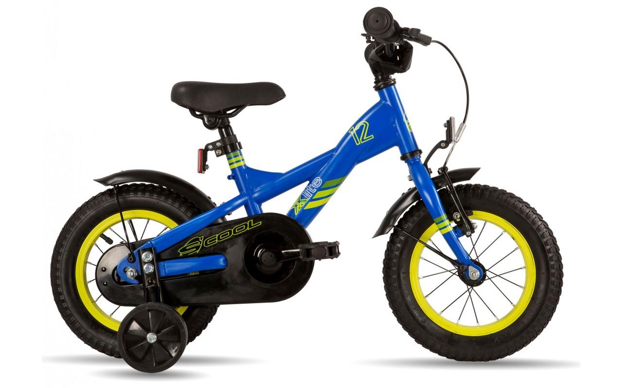 Детский велосипед Scool XXlite 12 steel (2017)