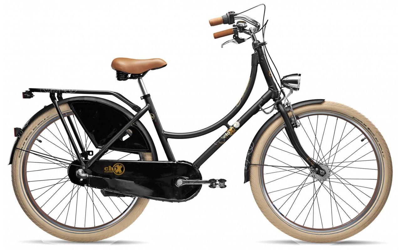 Городской велосипед Scool chiX classic 26-3 Nexus (2017)