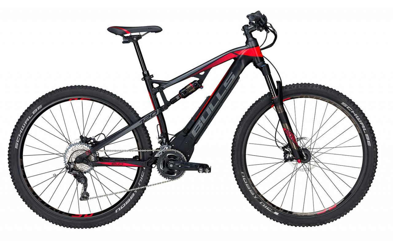 Велосипед двухподвес Bulls E-Stream EVO FS 3 RS 29 (2017)