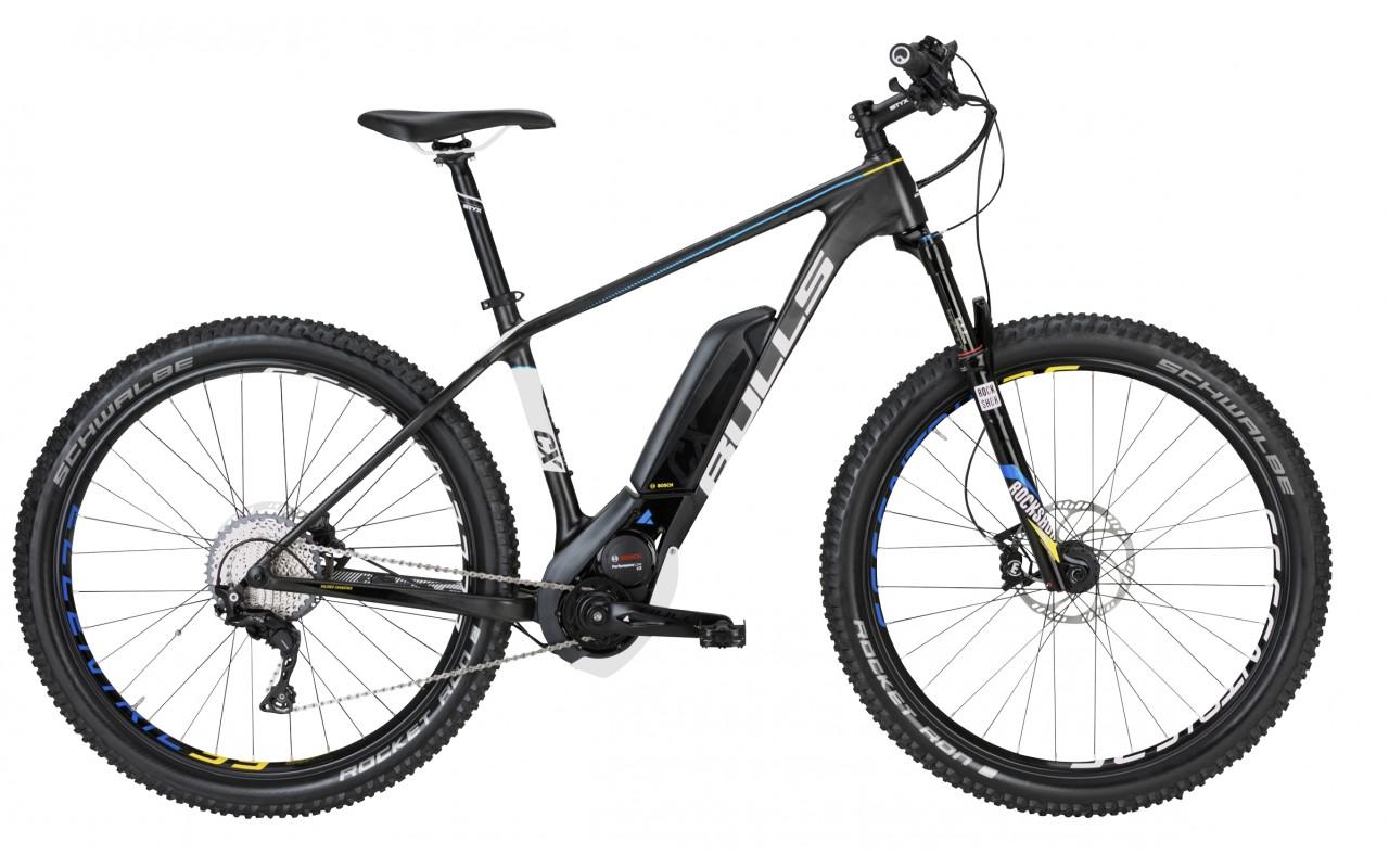 Электровелосипед Bulls Black Adder Team E 500Wh (2017)
