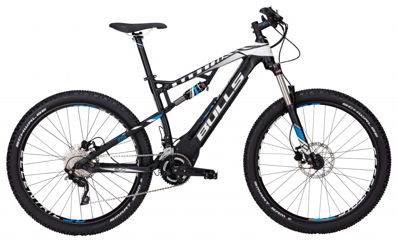 Велосипед двухподвес Bulls E-Stream EVO FS 2 27,5 Plus (2017)