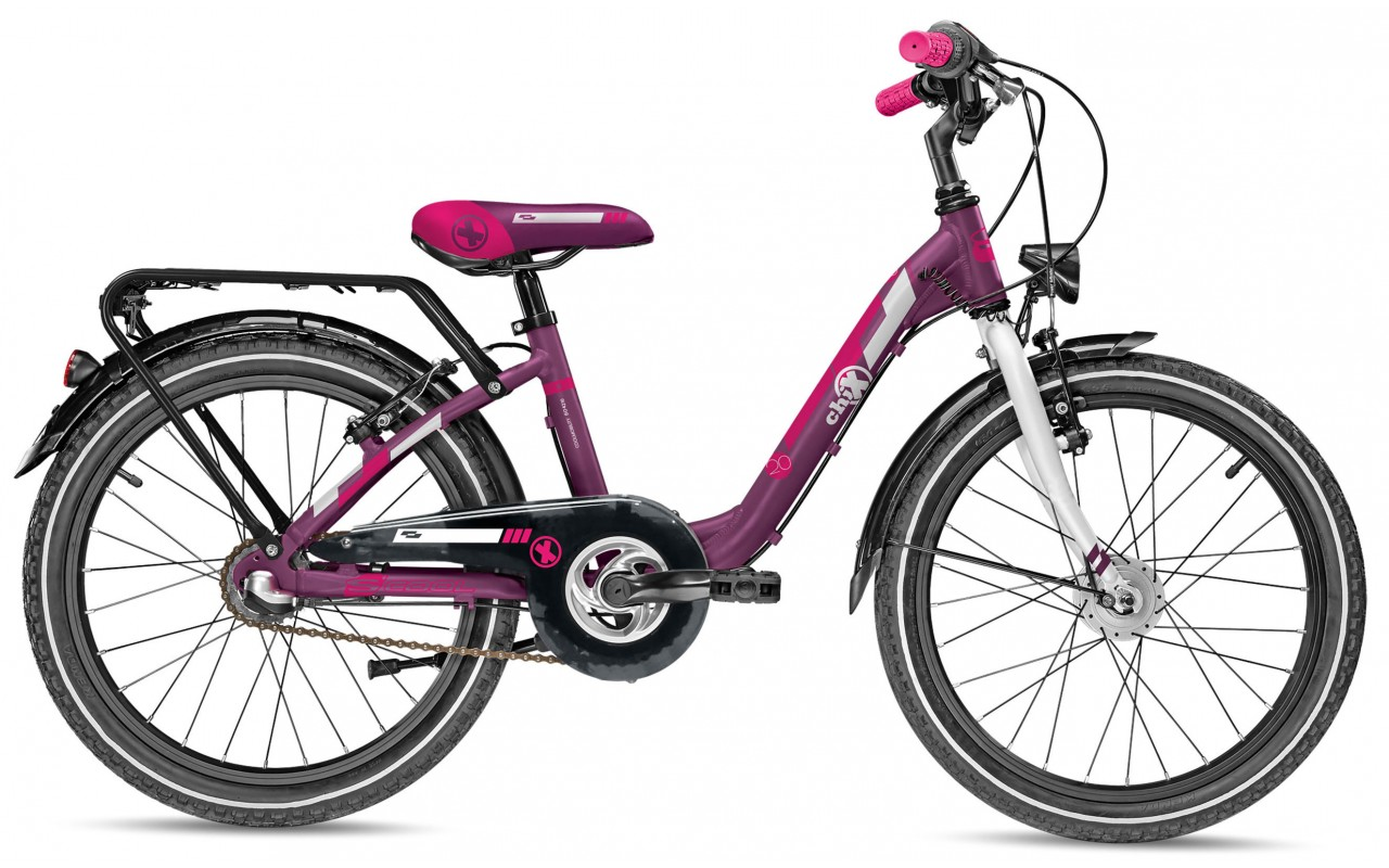 Детский велосипед Scool chiX comp 20-3 Nexus (2017)