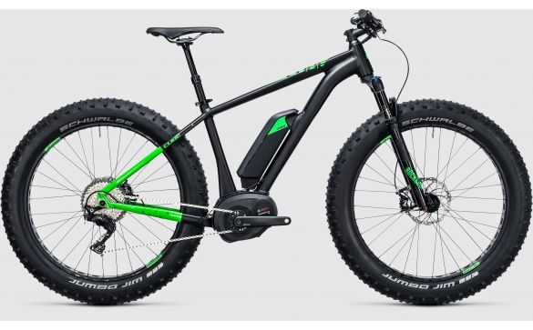 Электровелосипед CUBE NUTRAIL HYBRID 500 (2017)