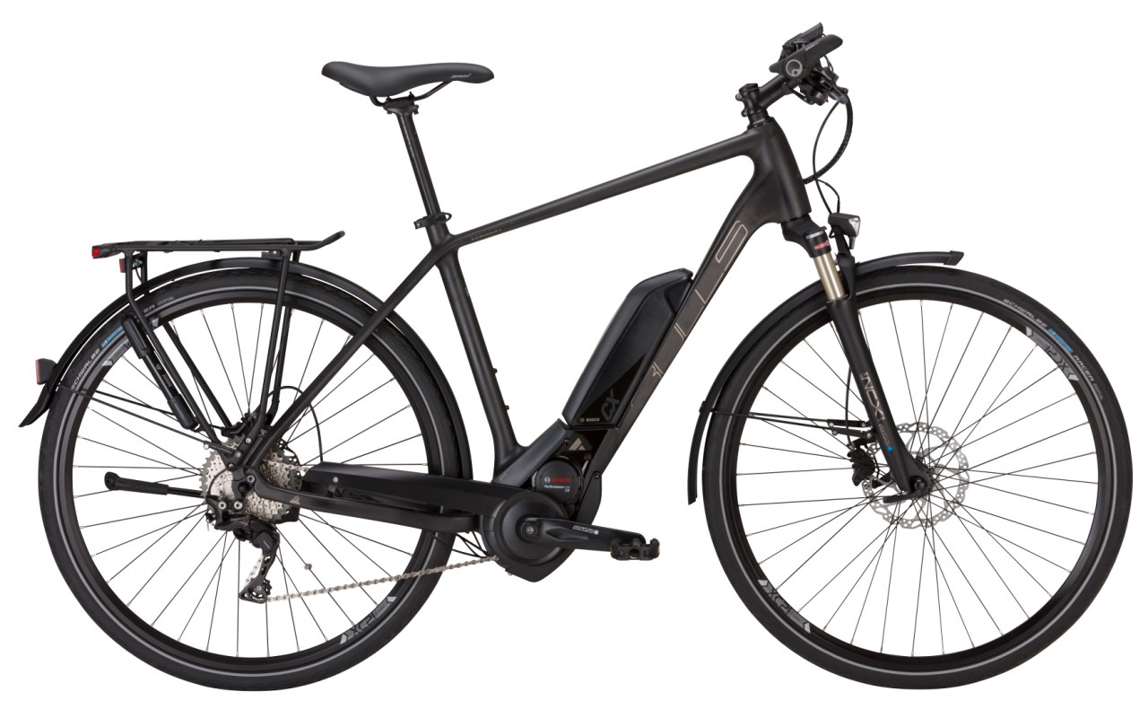 Электровелосипед Bulls Cross Lite E Carbon Gent11 500Wh (2017)