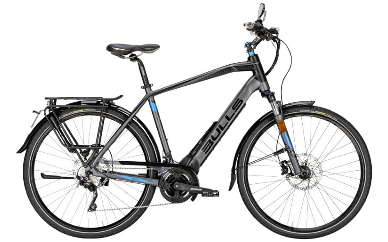 Электровелосипед Bulls Lacuba EVO E45 Trapez20 (2017)